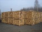 Krbové dřevo paletované